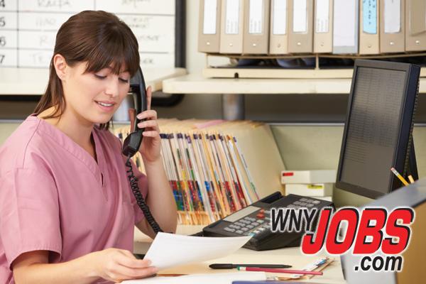 WNYJOBS - medical receptionist secretary intake coordinator