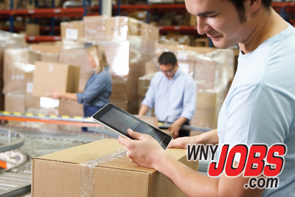 WNYJOBS warehouse material worker jobs